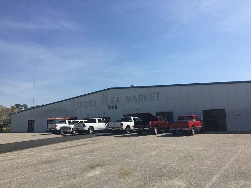 Flea Market Transformed into Sports Center