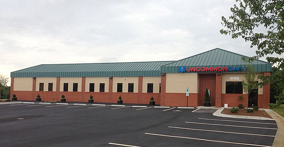 Uncommon Care Commercial construction project